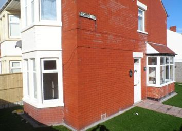 Thumbnail 3 bed semi-detached house to rent in Pickmere Avenue, Blackpool
