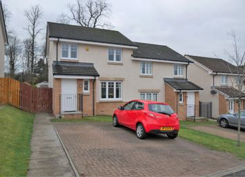 Thumbnail 3 bed semi-detached bungalow for sale in Divernia Way, Barrhead