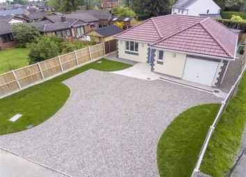 Thumbnail 3 bed detached bungalow for sale in Church Lane, St. Martins, Oswestry