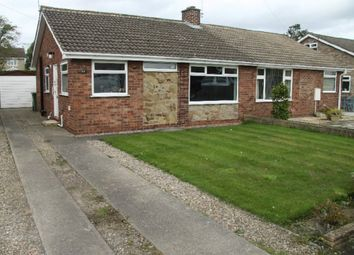 Thumbnail 2 bedroom semi-detached bungalow to rent in Windmill Way, Haxby, York