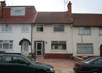 Thumbnail 4 bedroom terraced house to rent in Review Road, Neasden