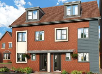 "Thumbnail 3 bedroom property for sale in ""The Caraway At Meadow View, Shirebrook"" at Brook Park East Road, Shirebrook, Mansfield"
