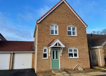 Thumbnail 3 bed link-detached house for sale in Grimshoe Road, Downham Market