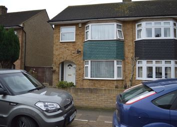 Thumbnail 3 bed end terrace house to rent in South Hall Drive, Rainham