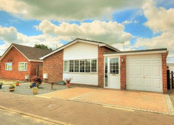 Thumbnail 3 bed detached bungalow for sale in Poplar Way, Attleborough