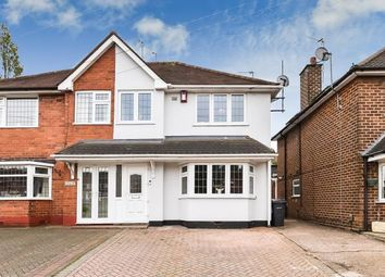 Thumbnail 3 bed semi-detached house for sale in Queslett Road, Great Barr, Birmingham, West Midlands