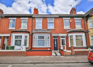 Thumbnail 4 bed terraced house for sale in Gelligaer Street, Cathays, Cardiff