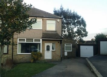 Thumbnail 4 bed semi-detached house to rent in Fairway Close, Bradford