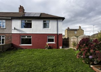 Thumbnail 3 bed semi-detached house for sale in Wakefield Crescent, Earlsheaton, Dewsbury, West Yorkshire