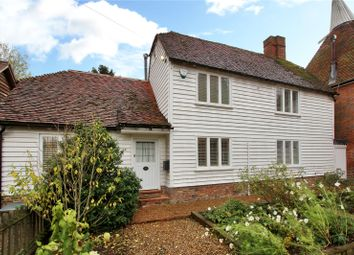 Thumbnail 3 bed cottage for sale in Goudhurst Road, Cranbrook, Kent