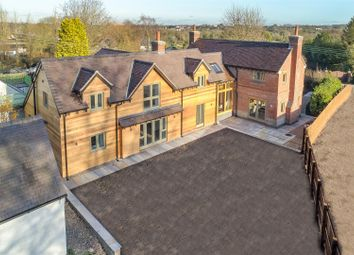 Thumbnail 5 bed detached house for sale in Lower Moor Road, Coleorton, Coalville