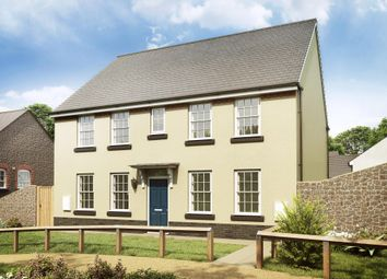 "Thumbnail 4 bedroom detached house for sale in ""Chelworth"" at Brixton, Plymouth"