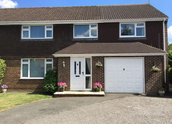 Thumbnail 5 bed semi-detached house for sale in Downsmead, Baydon, Marlborough