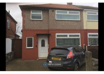 Thumbnail 3 bed semi-detached house to rent in Abbeystead Avenue, Bootle