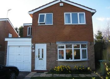 Thumbnail 4 bedroom detached house for sale in Silverstone Close, Walsall, West Midlands
