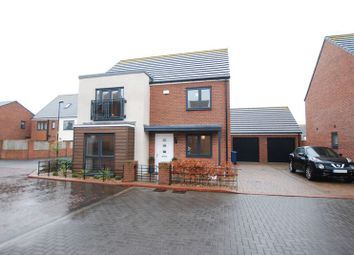 Thumbnail 4 bedroom detached house for sale in Swinhoe Road, Newcastle Upon Tyne