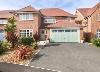 Thumbnail 4 bed detached house for sale in White Court, Penymynydd, Chester