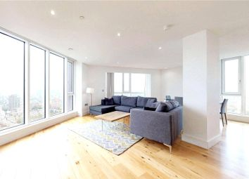 Thumbnail 3 bed flat to rent in Sky View Tower, Stratford