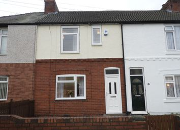 Thumbnail 3 bed terraced house for sale in Park Road, Askern, Doncaster