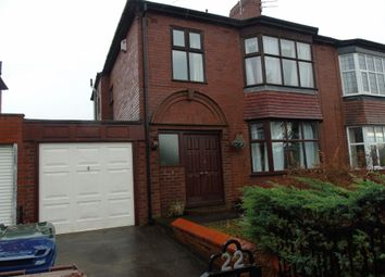 Thumbnail 3 bed semi-detached house for sale in Crompton Road, Heaton, Newcastle Upon Tyne