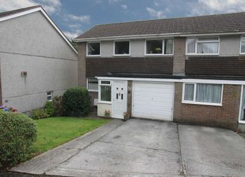 Thumbnail 4 bedroom semi-detached house for sale in Long Down Gardens, Plymouth