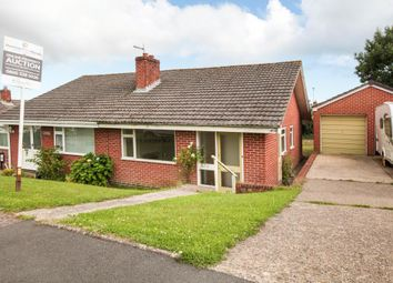 Thumbnail 2 bed semi-detached bungalow for sale in Axeview Rd, Seaton, Devon