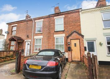 Thumbnail 3 bed cottage for sale in Beccles Road, St. Olaves, Great Yarmouth