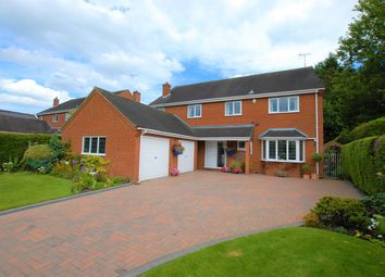 Thumbnail 5 bed detached house for sale in Manor Lane, Leigh, Stoke-On-Trent