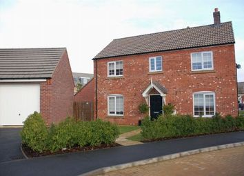 Thumbnail 4 bedroom detached house for sale in The Furrows, Moulton, Northampton