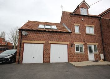 Thumbnail 2 bed end terrace house for sale in Canalside Mews, Worksop
