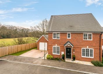 Thumbnail 4 bed detached house for sale in Langwood Drive, Horley, Surrey