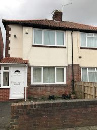 Thumbnail 2 bed semi-detached house to rent in Gowland Avenue, Fenham, Newcastle Upon Tyne