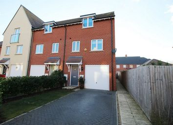 Thumbnail 3 bed end terrace house for sale in Garner Drive, St. Ives, Huntingdon