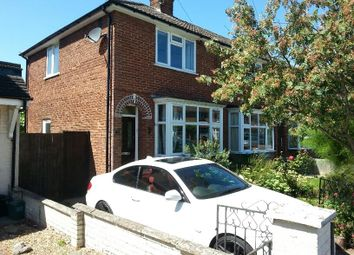 Thumbnail 2 bed semi-detached house to rent in Abbey Road, Aylesbury