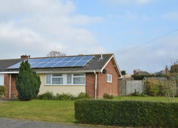 Thumbnail 3 bed semi-detached bungalow for sale in Debourne Close, Cowes