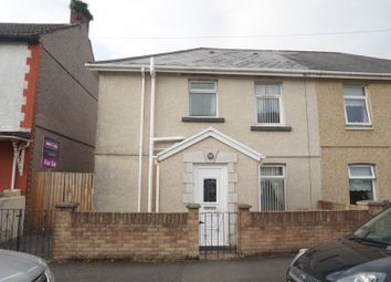 Thumbnail 3 bed semi-detached house for sale in Idwal Street, Neath