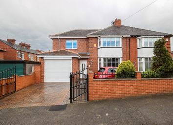 Thumbnail 4 bed semi-detached house for sale in Moxon Grove, Wakefield