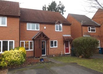 Thumbnail 2 bed terraced house for sale in Herons Court, West Bridgford, Nottingham, Nottinghamshire