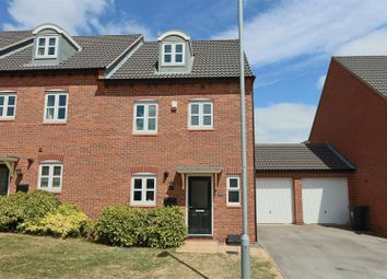 Thumbnail 4 bed town house for sale in Lynemouth Court, Arnold, Nottingham