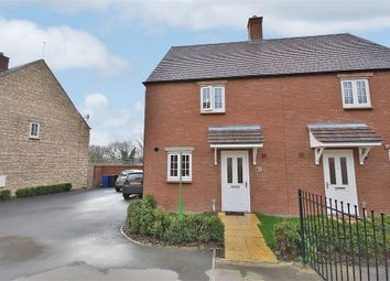 Thumbnail 3 bed semi-detached house for sale in Setters Way, Roade, Northampton