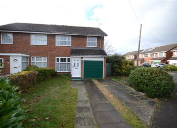 Thumbnail 3 bed semi-detached house for sale in Dunbar Drive, Woodley, Reading