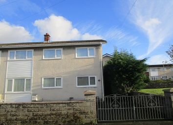 Thumbnail 3 bedroom semi-detached house for sale in Dolfain, Ystradgynlais, Swansea, City And County Of Swansea.