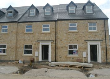 Thumbnail 4 bed terraced house for sale in Kettle Drive, Newborough, Peterborough