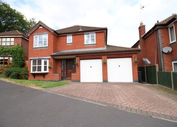 Thumbnail 5 bedroom detached house for sale in Pares Close, Whitwick, Coalville