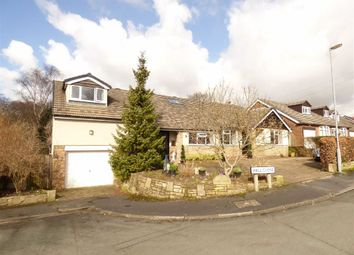 Thumbnail 5 bedroom detached bungalow for sale in Hall Close, Macclesfield, Cheshire