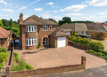 Thumbnail 3 bed detached house for sale in Hillcrest Avenue, Chertsey