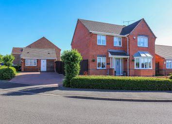 Thumbnail 5 bed detached house for sale in Birchfield Drive, Worksop