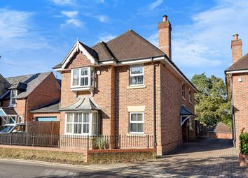 Thumbnail 5 bed detached house for sale in Burnt Hill Road, Lower Bourne, Farnham