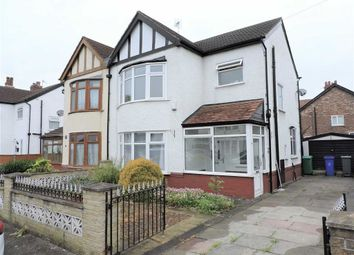 Thumbnail 3 bed semi-detached house for sale in Scarisbrick Road, Burnage, Manchester