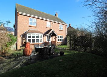 Thumbnail 4 bed detached house for sale in Church Close, Holbeach St Marks, Spalding, Lincolnshire
